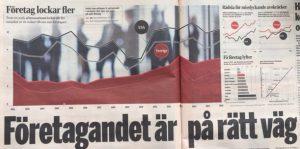Företagandet är på rätt väg Andelen personer i eller på väg in i nyföretagande i Sverige växer, särskilt bland kvinnor
