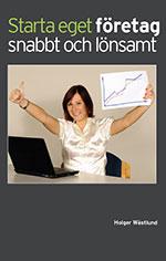 boken Starta eget företag snabbt och lönsamt